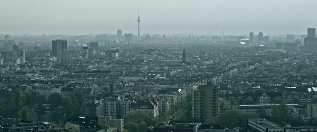 Luftbild von Berlin als Schauplatz von Der letzte Mieter