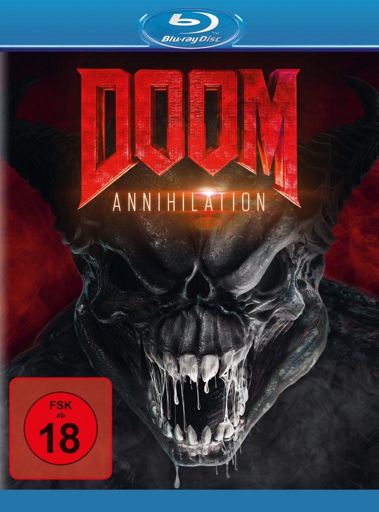 Blu-ray-Cover zu Doom: Annihilation