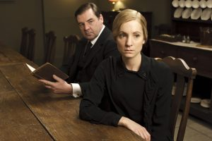 Brendan Coyle und Joanne Froggatt in Downton Abbey von ©Universal Pictures Home Entertainment
