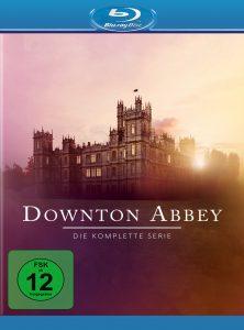 Bluray-Cover der kompletten Serie von Downton Abbey von ©Universal Pictures Home Entertainment