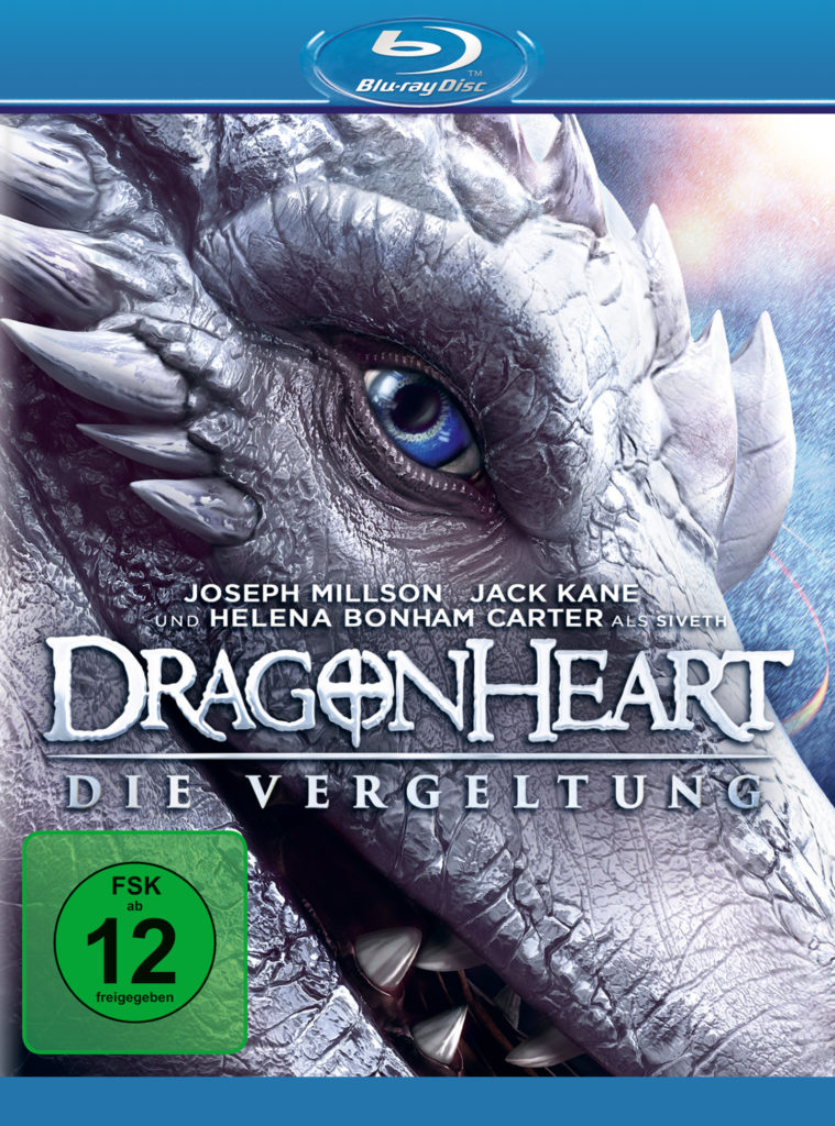 Blu-ray-Cover, Dragonheart - Die Vergeltung