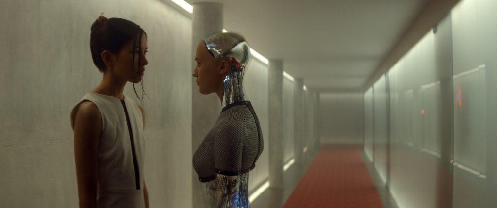 """Alicia Vikander in """"Ex Machina."""