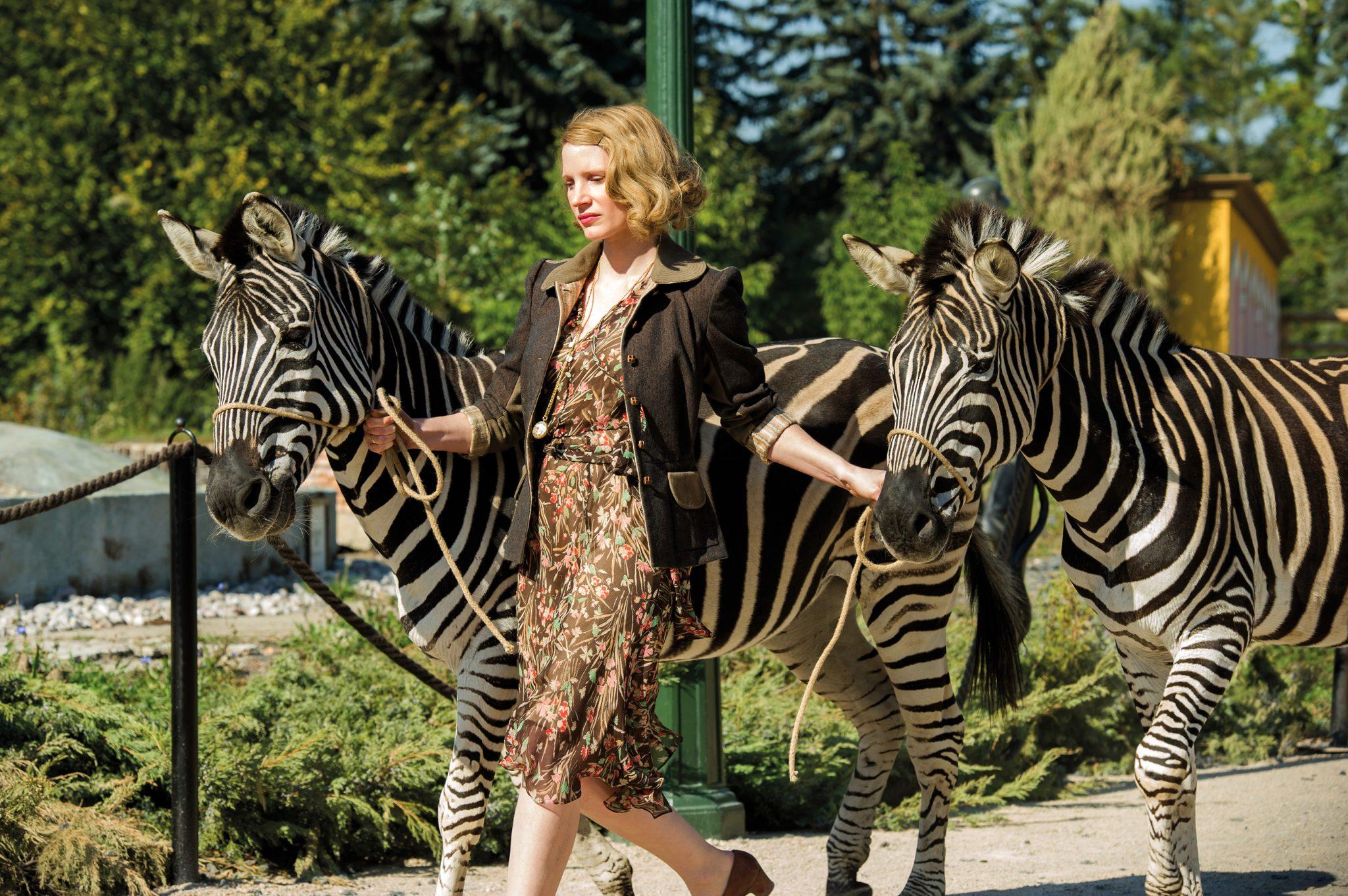 Jessica Chestain in Die Frau des Zoodirektors.