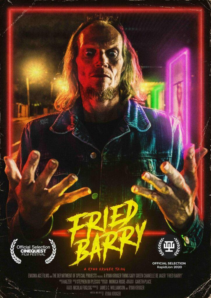 Das Plakat zu Fried Barry © Rock Salt Releasing