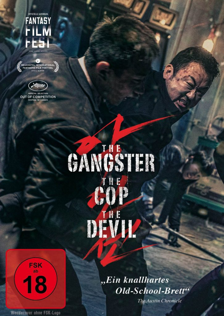 Heimkino-Cover zu The Gangster, The Cop, The Devil