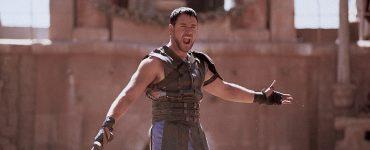 Maximus als Gladiator im Kolosseum, Gladiator