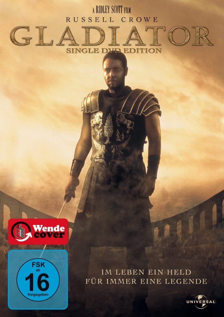 DVD-Cover, Gladiator