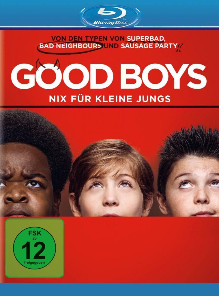 Das deutsche Blu-ray-Cover zu Good Boys von Universal Pictures