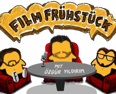 Auf dem Bild sind drei sitzende Toastscheiben zu sehen, die den drei Teilnehmern des Podcasts nachempfunden sind
