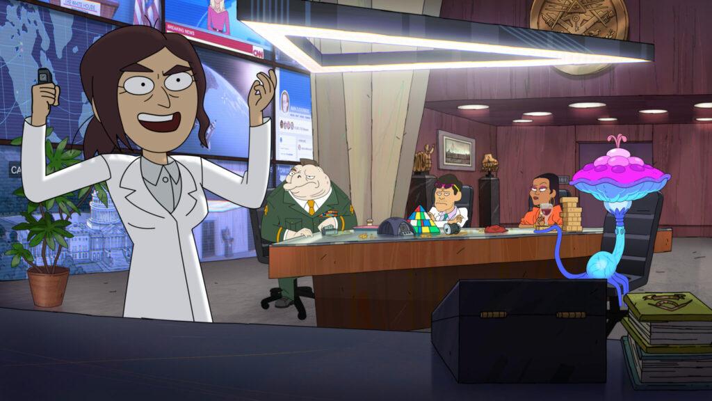 Inside Job wird eine Animationsserie für Erwachsene © Netflix