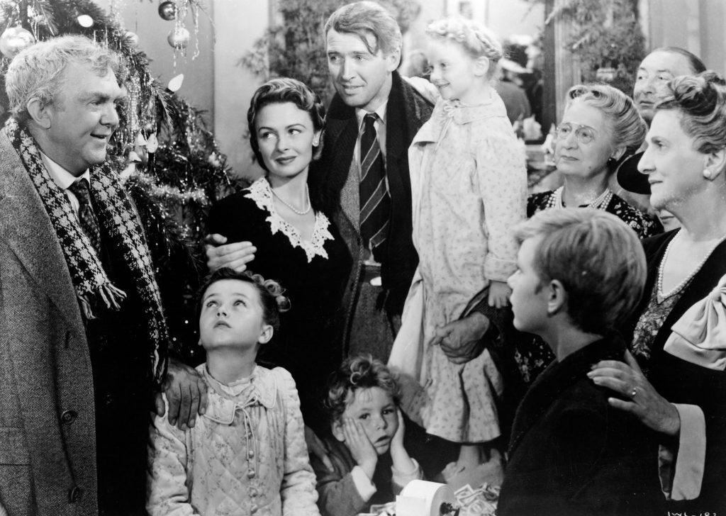 Die ganze Familie Bailey feiert gemeinsam Weihnachten