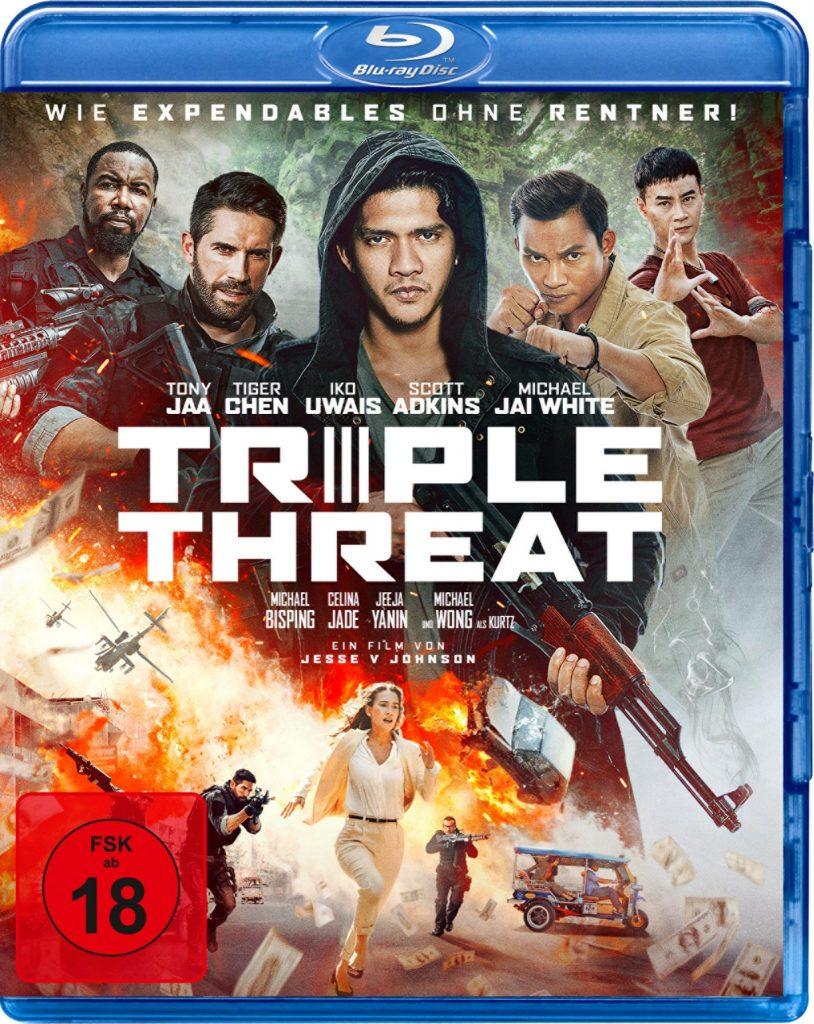 Cover zu Triple Threat © 2019 Koch Films