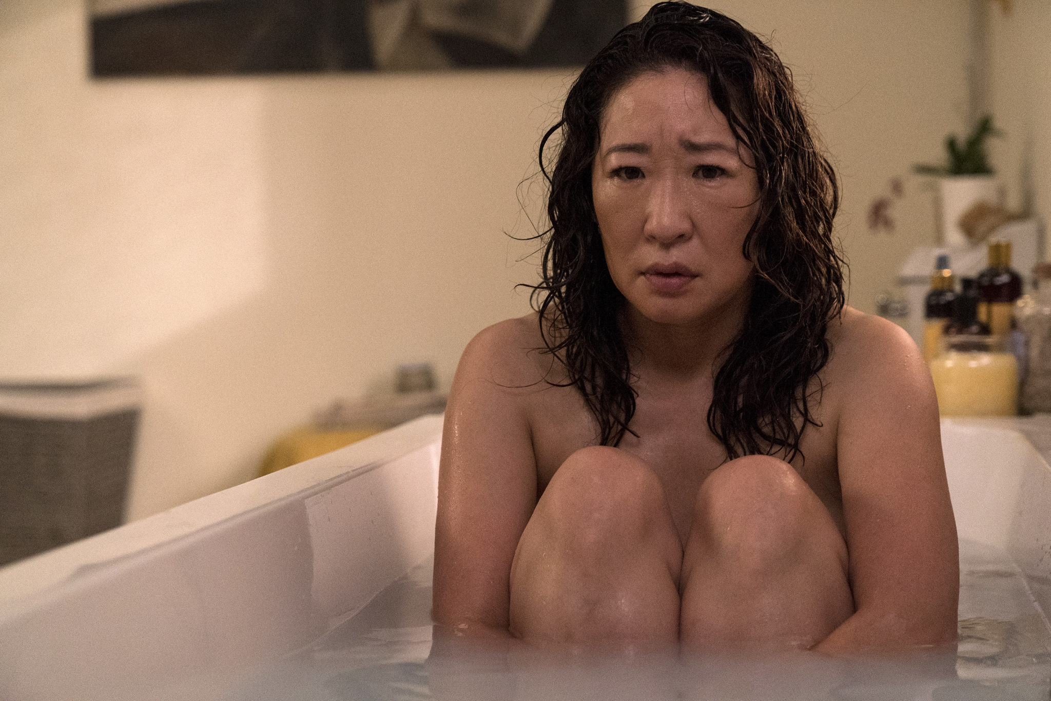 Sandra Oh spielt die Titelgebende Eve in Killing Eve