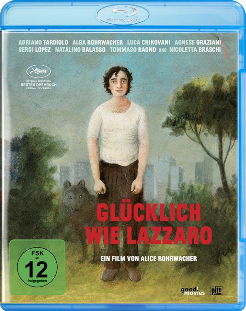 """Das Bluray-Cover zu """"Glücklich wie Lazzaro"""" © EuroVideo Medien GmbH"""