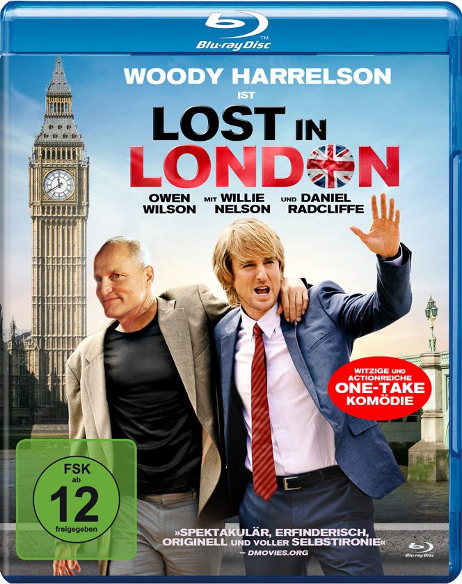 Das Blu-ray-Cover zu Lost in London