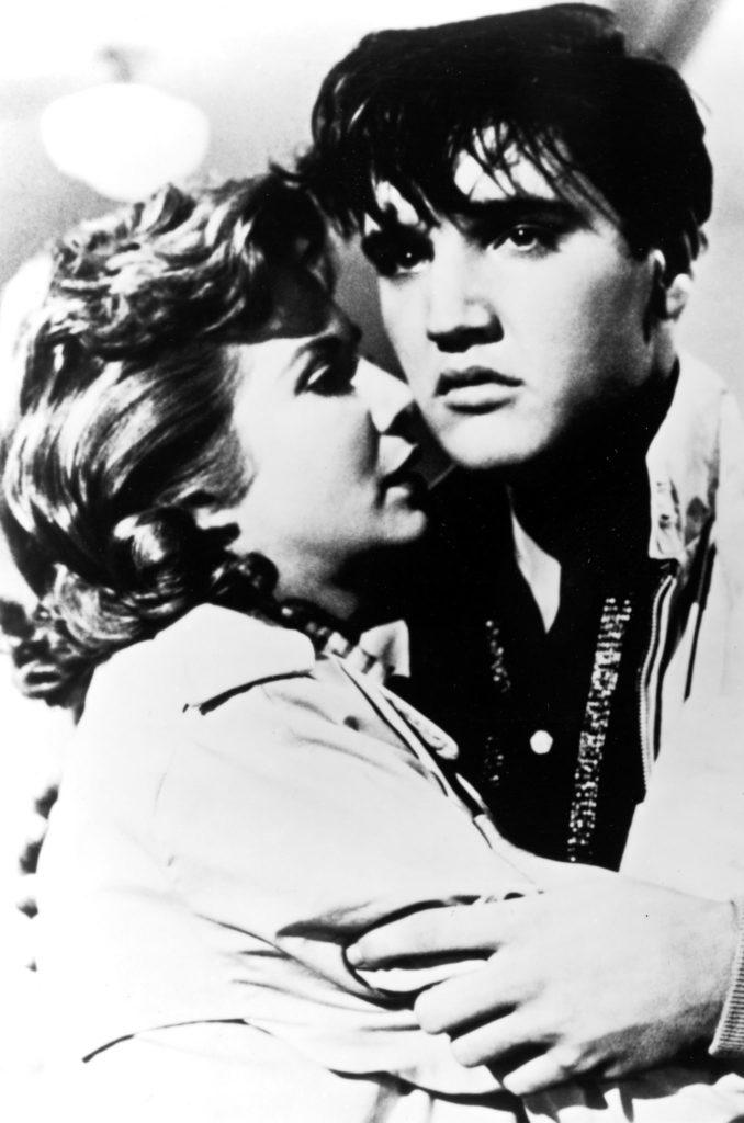 Jan Shepard umarmt Elvis Presley, Mein Leben ist der Rhythmus