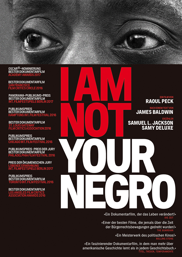 "Cover von ""I Am Not Your Negro"""