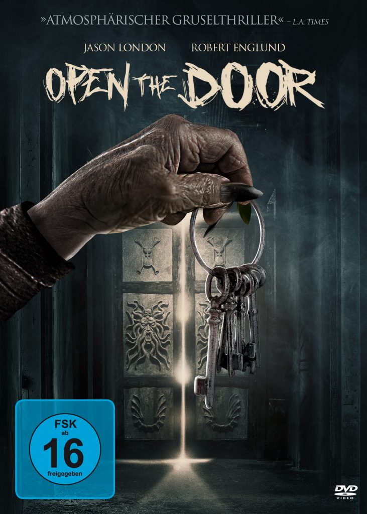 Das DVD Cover von Open the Door