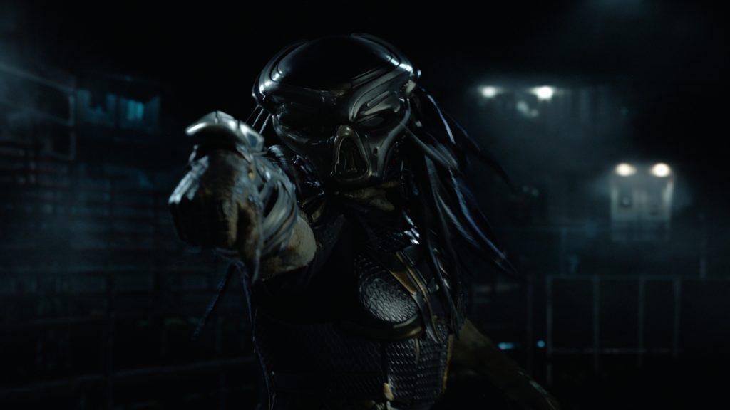 Der Predator in seiner vollen Montur in Predator - Upgrade. © Twentieth Century Fox