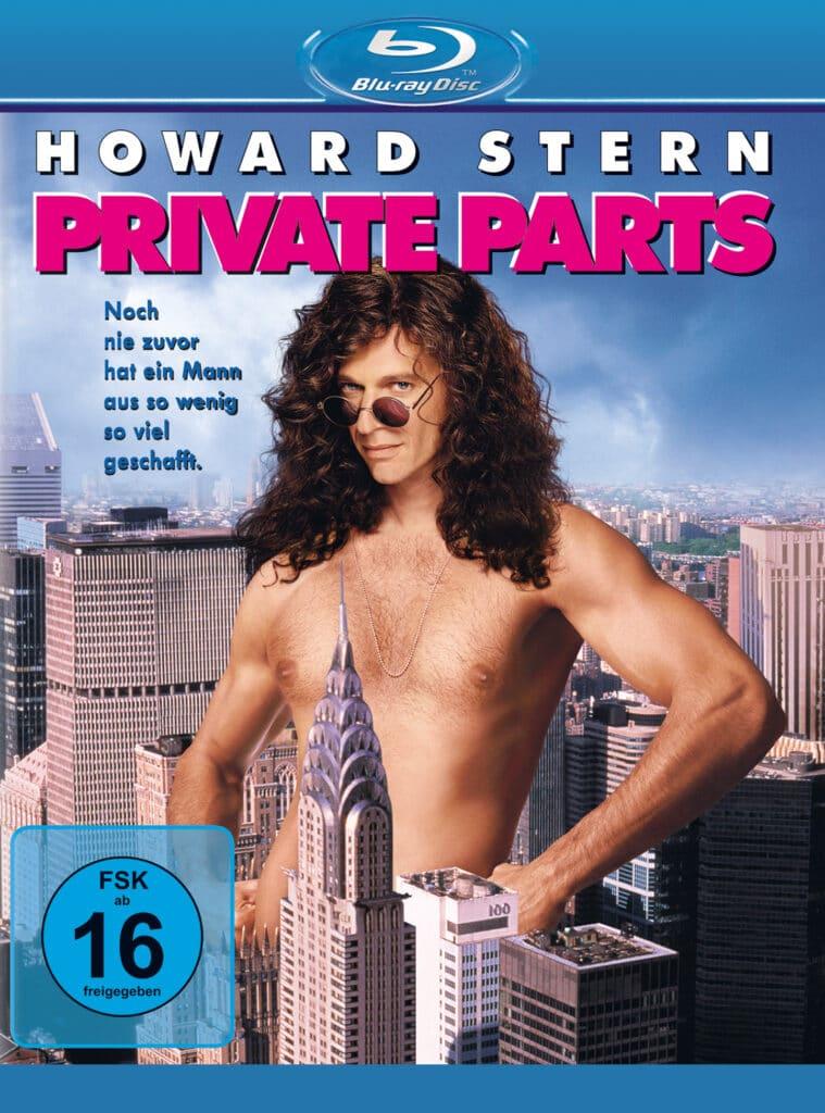 Front-Covermotiv der Blu-ray Veröffentlichung zu Private Parts