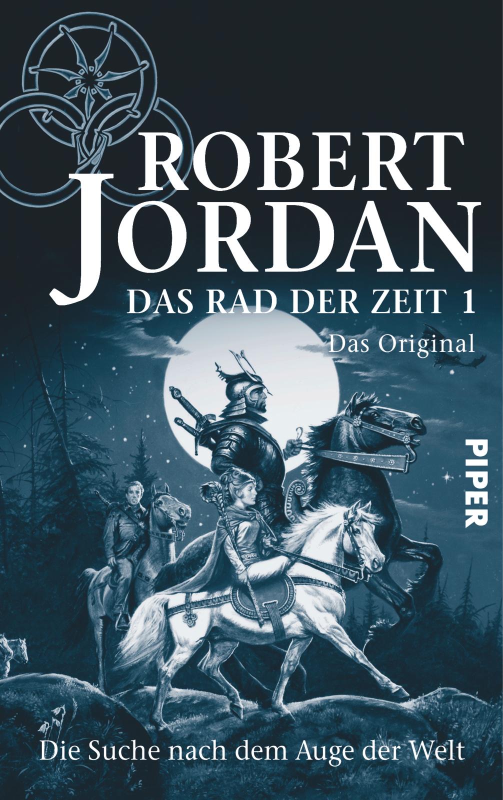 """Cover """"Das Rad der Zeit"""" @ Piper Verlag"""