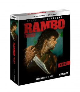 Rambo-Trilogie © Studiocanal Home Entertainment