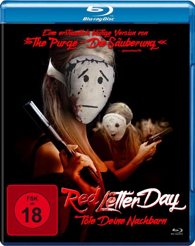 Cover zu Red Letter Day - Töte deine Nachbarn