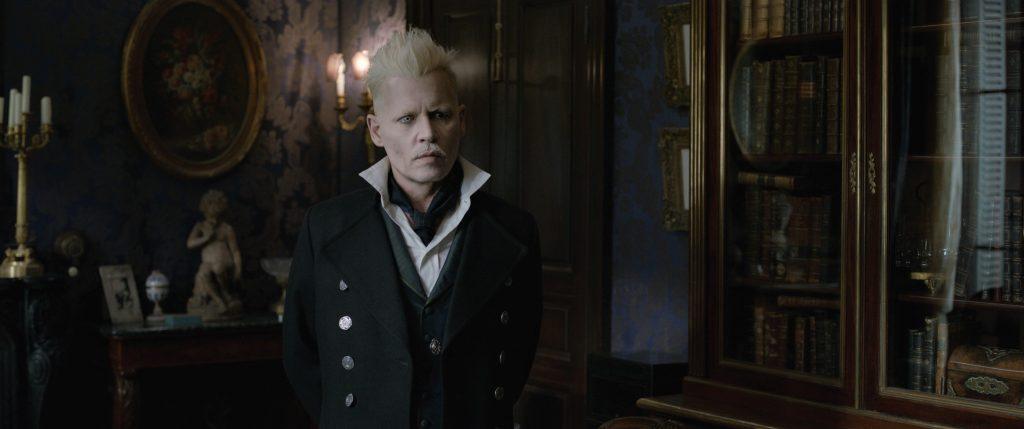 Johnny Depp als Gellert Grindelwald in Phantastische Tierwesen: Grindelwalds Verbrechen zu sehen. © Warner Bros. Entertainment