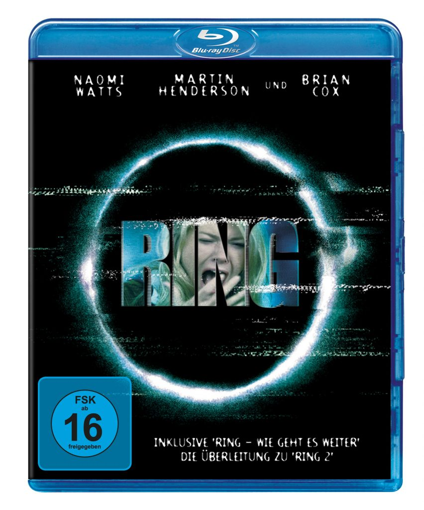 Das Bluray Cover von Ring. © Universal Pictures Germany