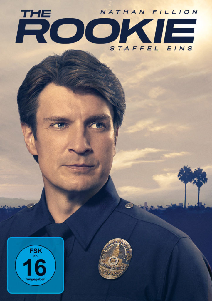Cover, The Rookie - Staffel 1 © Entertainment One