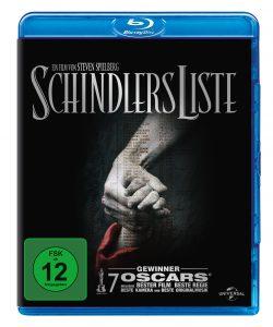 "DVD- Cover zu ""Schindlers Liste"""