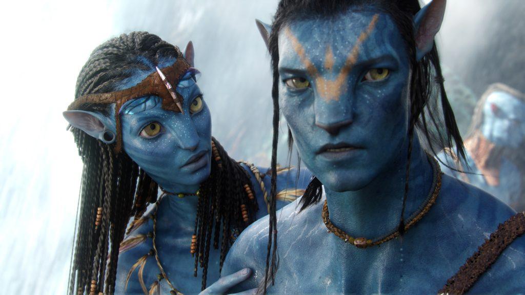 Neytiry (Zoe Saldana) und Jake Sully (Sam Worthington) in Avatar - Aufbruch nach Pandora. © 2017 Twentieth Century Fox Home Entertainment