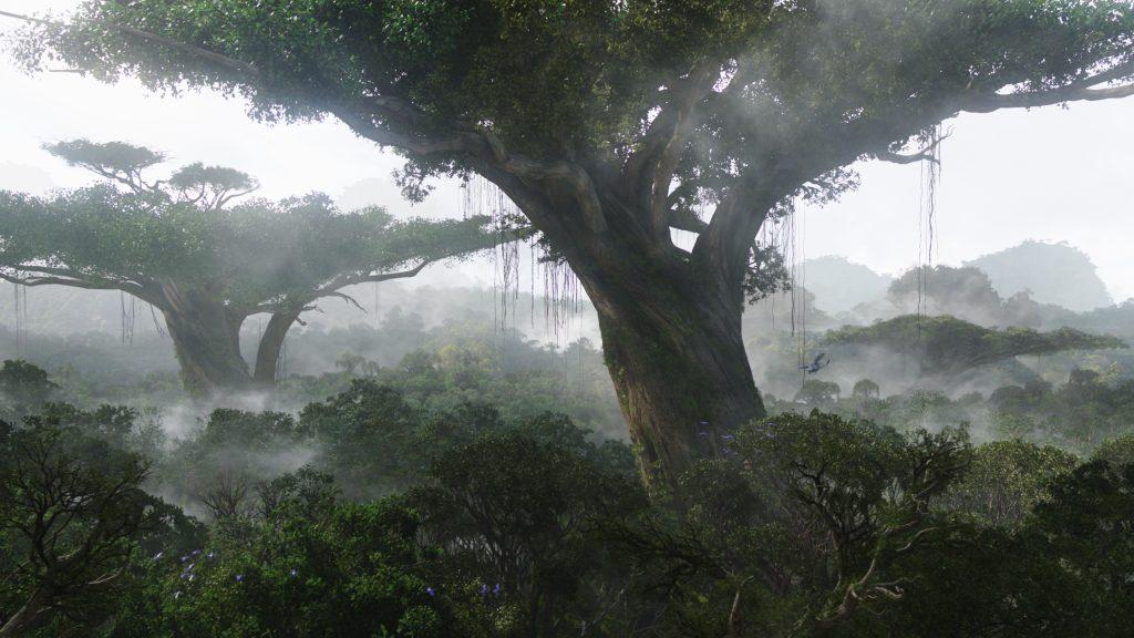 Der Heimatbaum der Na'vi in Avatar - Aufbruch nach Pandora. © 2017 Twentieth Century Fox Home Entertainment