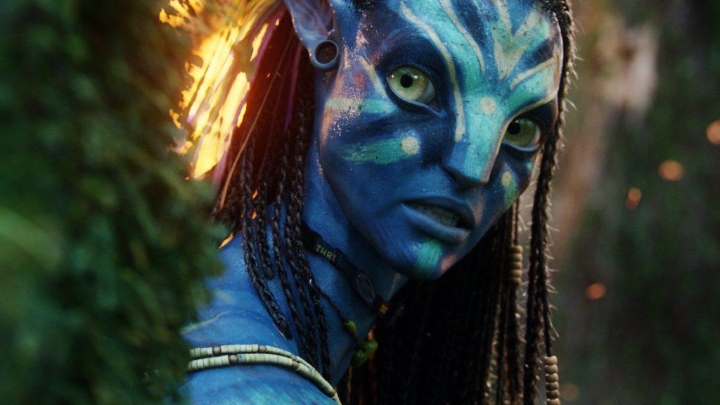 Neytiri während des großen Endkampfes in Avatar - Aufbruch nach Pandora. © 2017 Twentieth Century Fox Home Entertainment