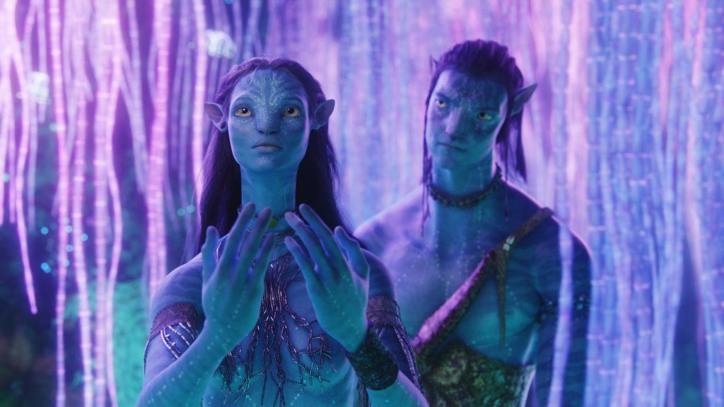 """""""An diesem Ort werden Gebete gesprochen - und manchmal auch erhört."""" (Neytiri am Baum der Seelen in Avatar - Aufbruch nach Pandora zu Jake) © 2017 Twentieth Century Fox Home Entertainment"""