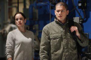 Sarah Wayne Callies and Wentworth Miller in Prison Break von ©Fox Network