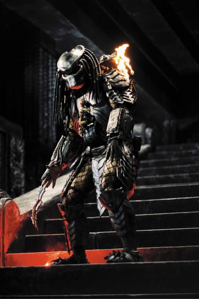 Der Predator in all seiner Größe und Pracht in Alien vs. Predator. @ 20th Century Fox Home Entertainment