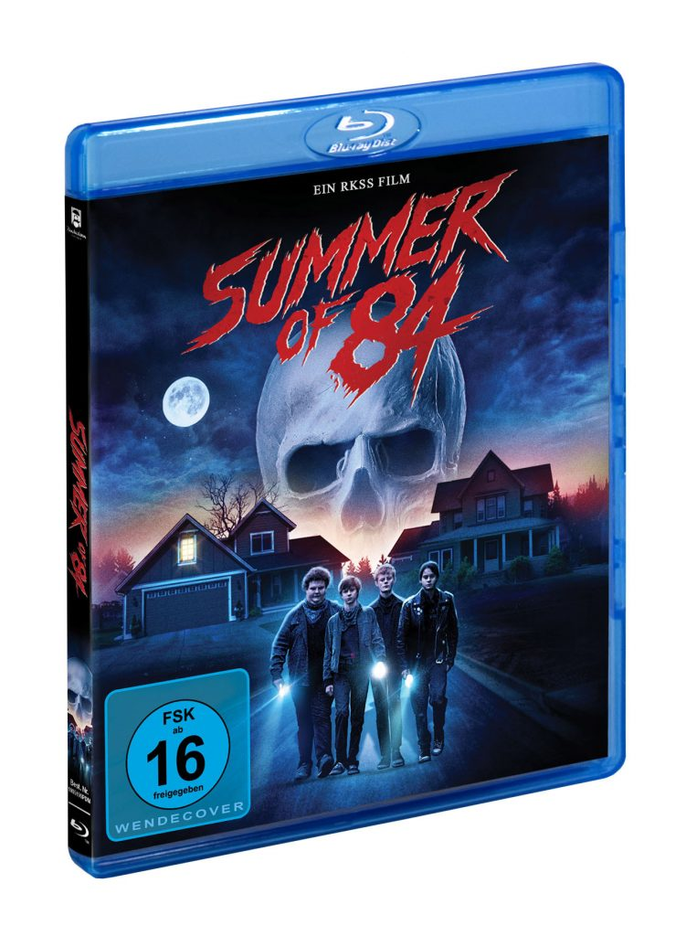 """Blu-ray Cover der 80er-Hommage """"Summer of 84"""" © Pandastorm Pictures"""