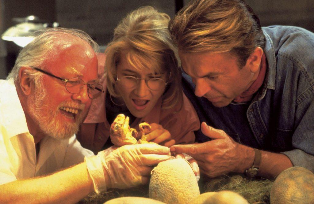 """Jurassic Park sieht dank zeitloser Animatronics auch heute noch toll aus Quelle: """"Jurassic Park"""", erhältlich auf DVD & Bluray (© Universal Pictures)"""