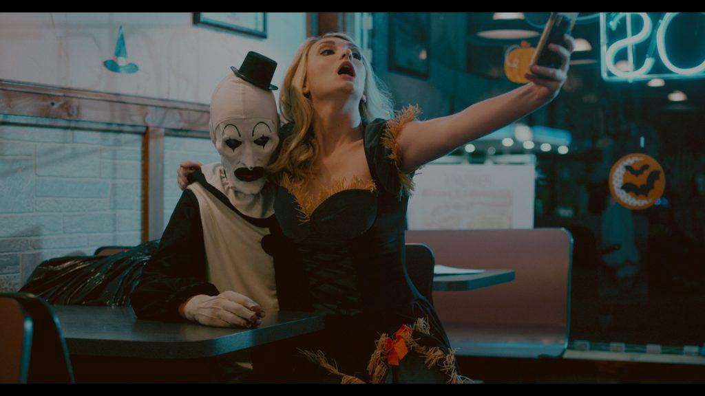 In Terrifier ist Art the Clown alles andere als eine Witzfigur © Tiberius Film