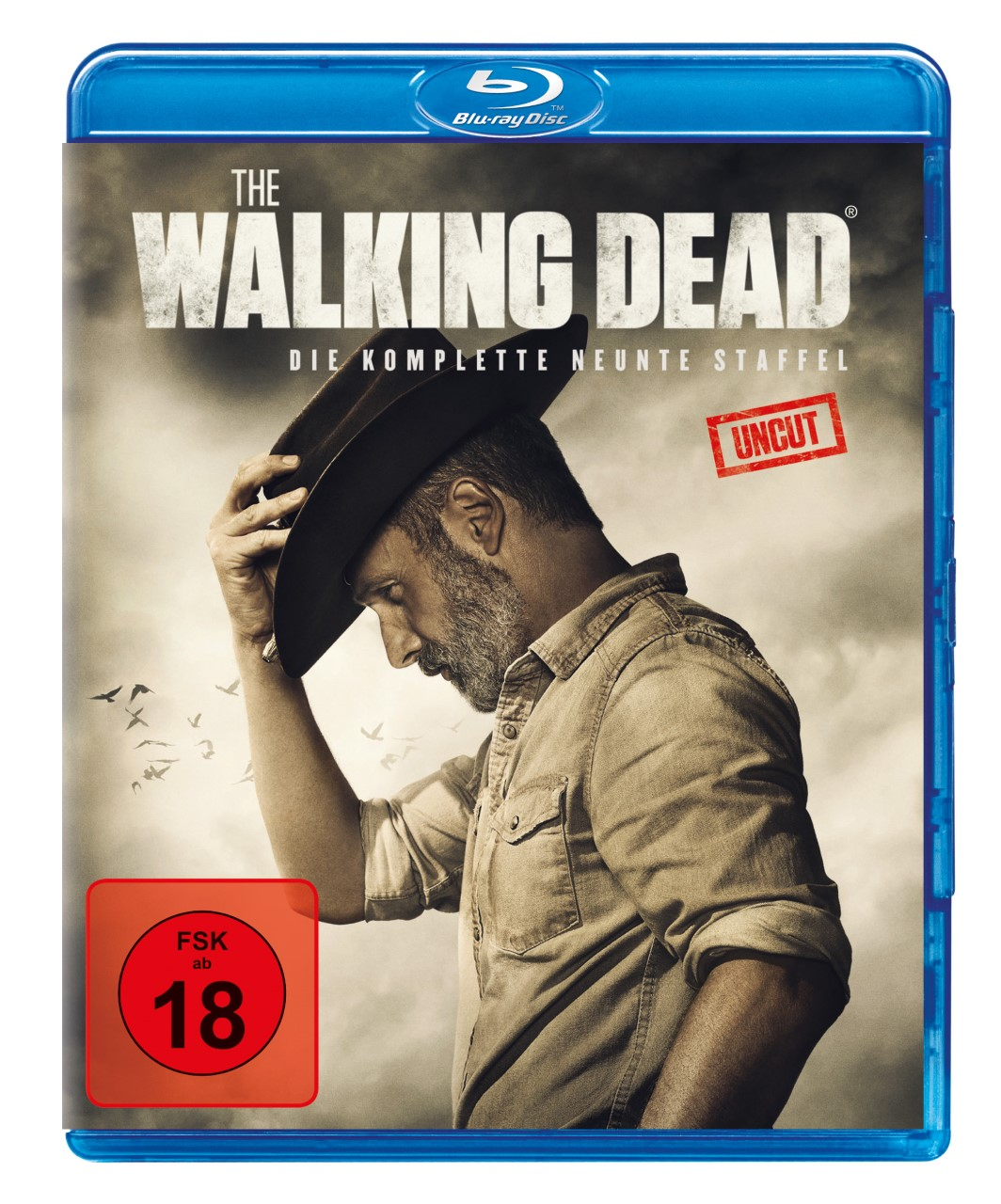 BluRay-Cover von The Walking Dead Staffel 9