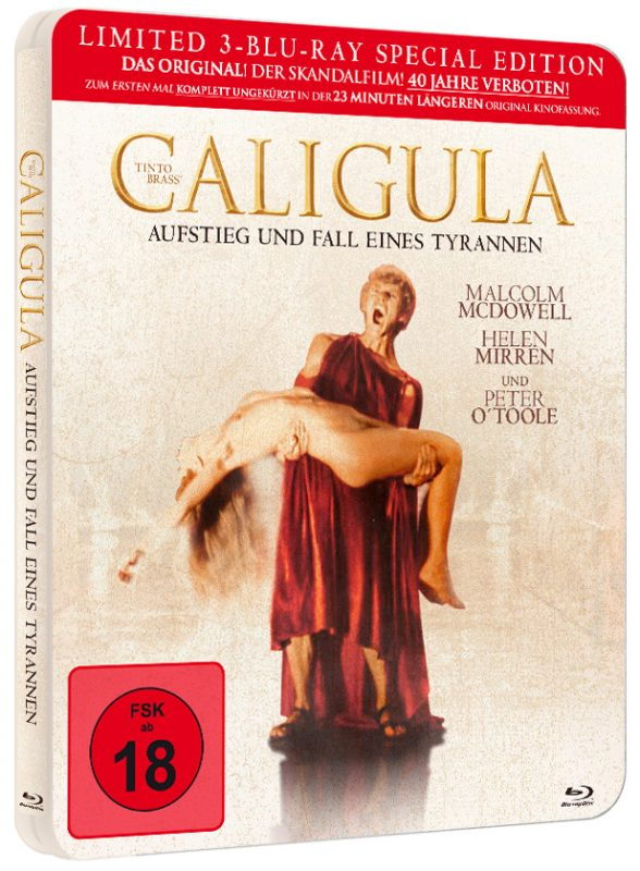Steelbook zu Caligula