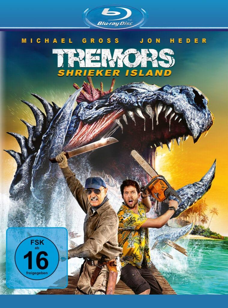 Das Heimkino-Cover zu Tremors: Shrieker Island