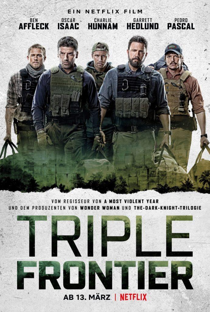 Das offizielle Plakat zu Triple Frontier ©Netflix