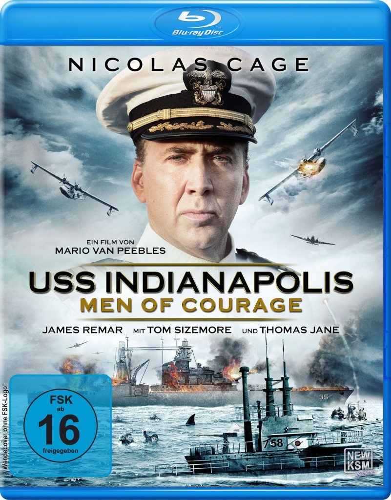 BluRay-Cover von USS Indianapolis - Men Of Courage © KSM GmbH