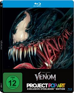 Venom Steelbook © 2018 Columbia Pictures Industries