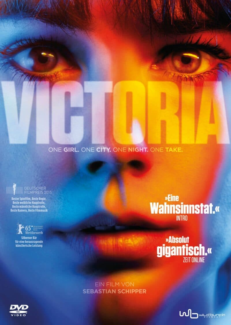 Close-Up von Victoria mit dem Titel des Films im Zentrum © Senator Home Entertainment