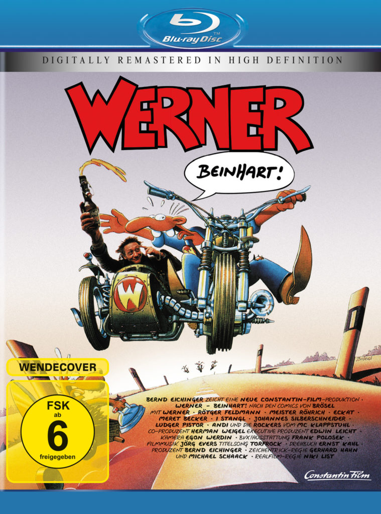 Blu-Ray-Cover zu Werner - Beinhart! © Constantin Film