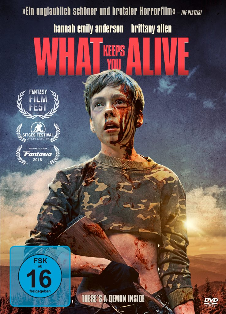 Das DVD Cover von What Keeps You Alive. © Tiberius Film