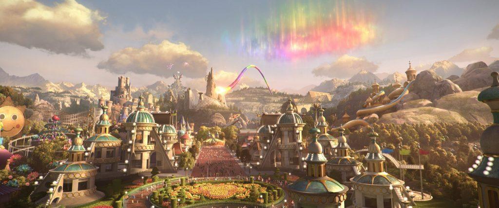 """Aussicht auf den Wunder Park in """"Willkommen im Wunder Park"""""""
